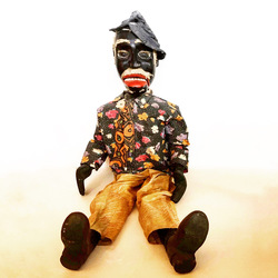 "Mestre Sauba, ""Benedito"" Puppet, 1960's or older, articulated"