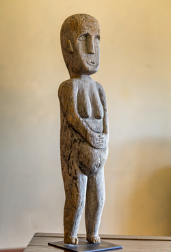 Funerary Sculpture, wood, Sulawesi, ca. 1930