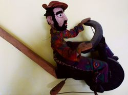 Mestre Sauba, Bicycle Puppet