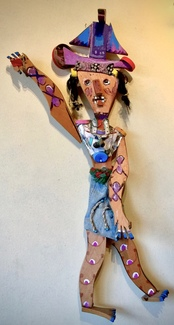 Untitled  (Bird Woman), Assemblage, ca. 2000